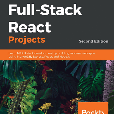کتاب Full-Stack React Projects