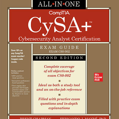کتاب CompTIA CySA+ Cybersecurity Analyst Certification