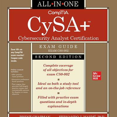 کتاب CompTIA CySA+ Cybersecurity Analyst Certification