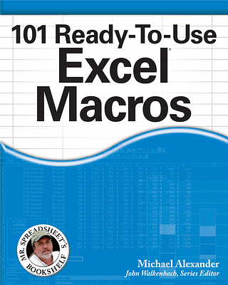 کتاب 101 Ready to Use Excel Macros