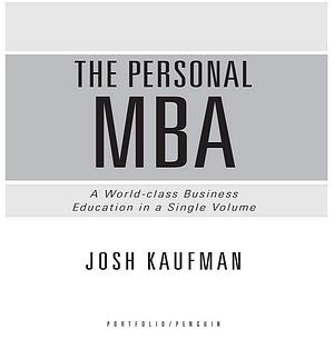 دانلود کتاب the Personal Mba