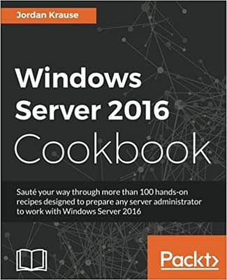 کتاب Windows Server 2016 Cookbook