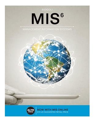 کتاب MIS Management Information Systems