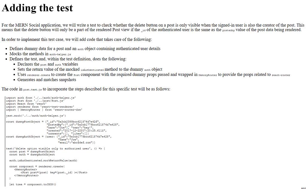فصل 15 کتاب Full-Stack React Projects