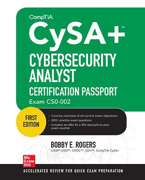 کتاب CompTIA CySA+ Cybersecurity Analyst Certification Passport