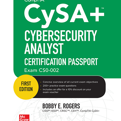 کتاب CompTIA CySA+ Cybersecurity Analyst Certification Passport